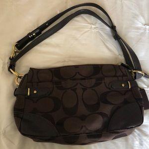 Brown Coach purse